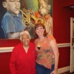 DeAnne with Leah Chase, 2010